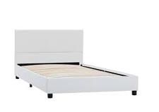 Rama łóżka z zagłówkiem